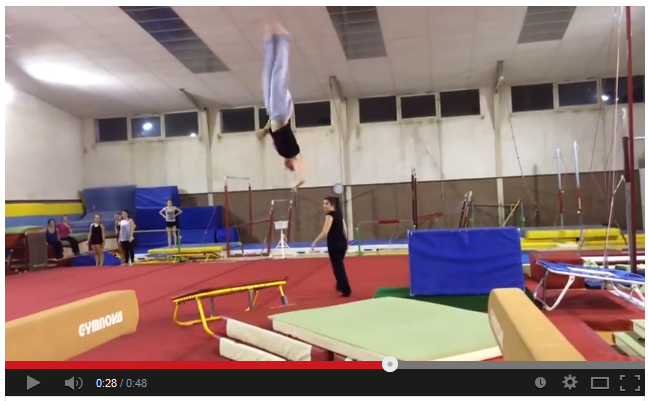 """Vidéo """"L'acrobatie avec la team gym"""" - épisode 1"""