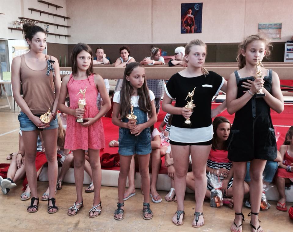 Remise des récompenses Vaillante de Langon Gym 2014