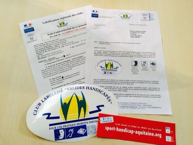 Sport et handicap - Label