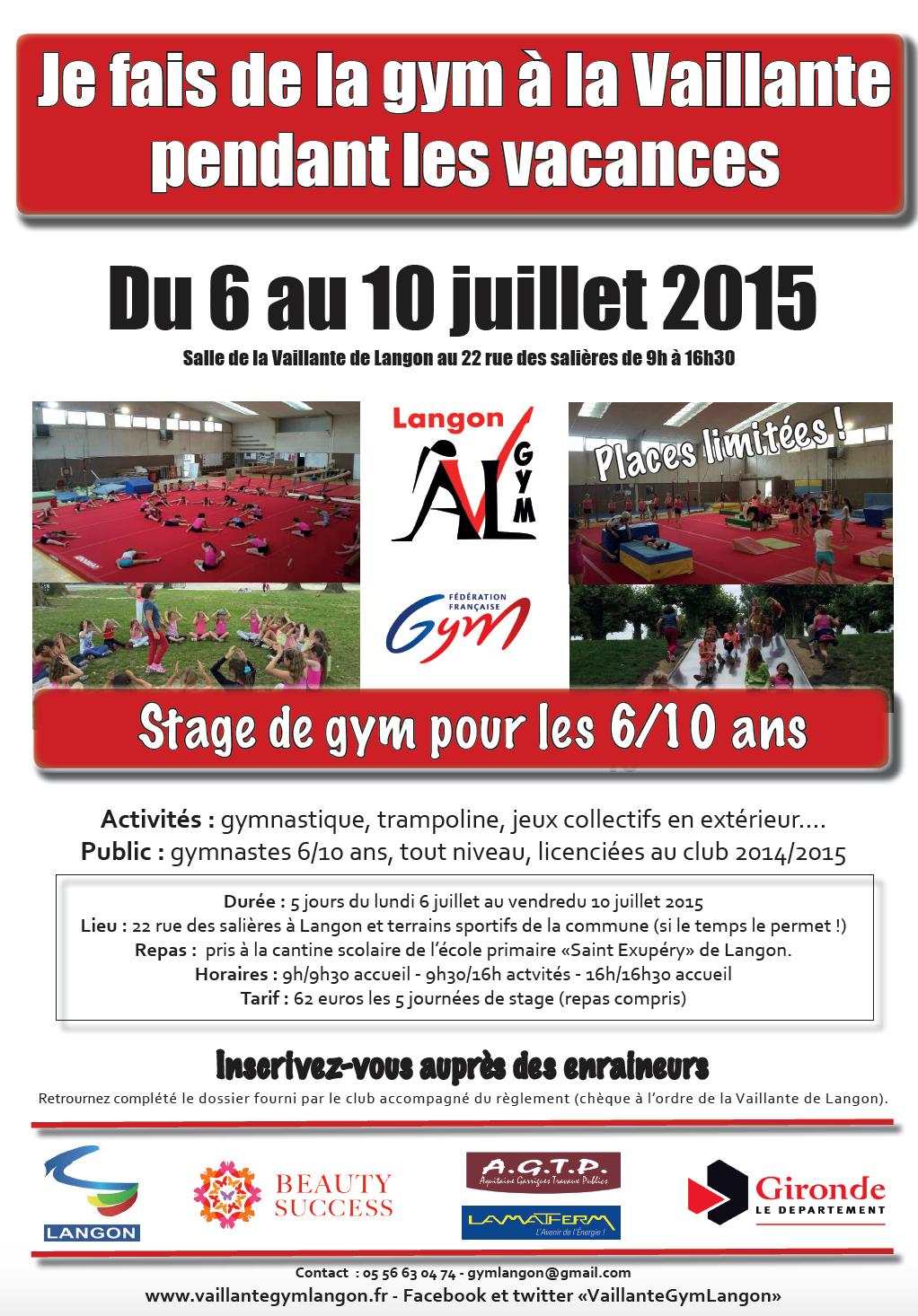 stage AVL loisir 2015