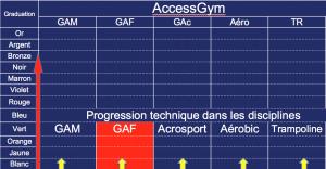 AccessGym spécifiques
